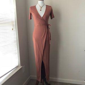 NWT Forever21 Wrap Dress.